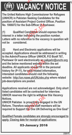 Assistant Project Control Officers Job Opportunity