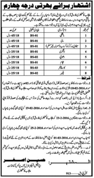 Punjab Constabulary Jobs