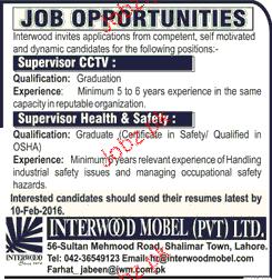 Supervisor Job Opportunity