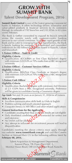 Trainee Officer, Trainee Cash Officers Job Opportunity