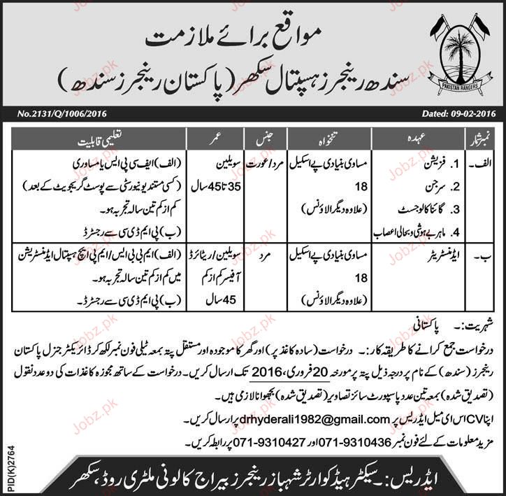 Physicians, Surgeons, Gynecologists Job Opportunity