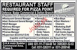 Shift Manager, Restaurant General Manager Job Opportunity