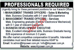 Manager Trainee Officers Job Opportunity