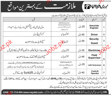 Associate Engineers, Drivers, Security Guard Job Opportunity