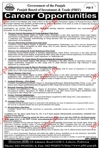 Industrial Engineers, Additional Directors Job Opportunity