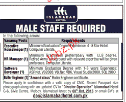 Executives, HR Manager, Software Developers Wanted