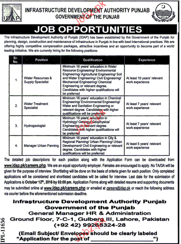 Water Resource & Supply Specialists Job Opportunity