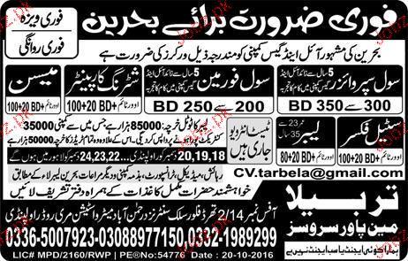 Civil Supervisor, Civil Foreman Job Opportunity