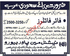 Fire Fighters Job Opportunity