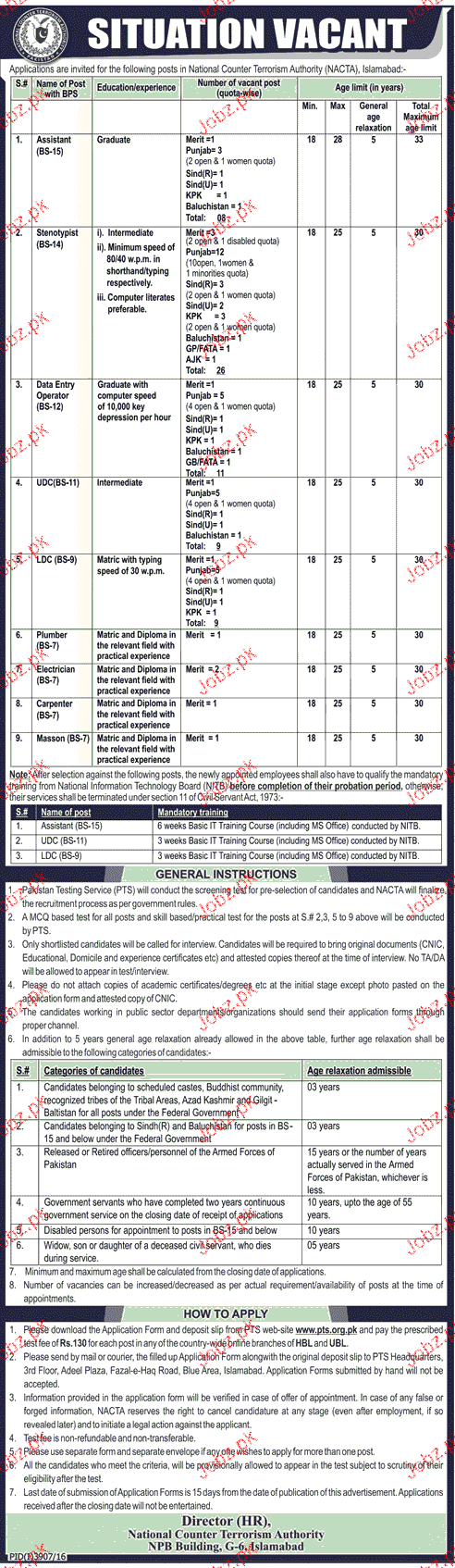 Assistant, Stenotypists, Data Entry Operator Job Opportunity