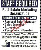 Real Estate Marketing Staff Job Opportunity