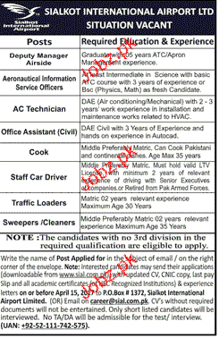 Deputy Manager, Information Officers Job Opportunity