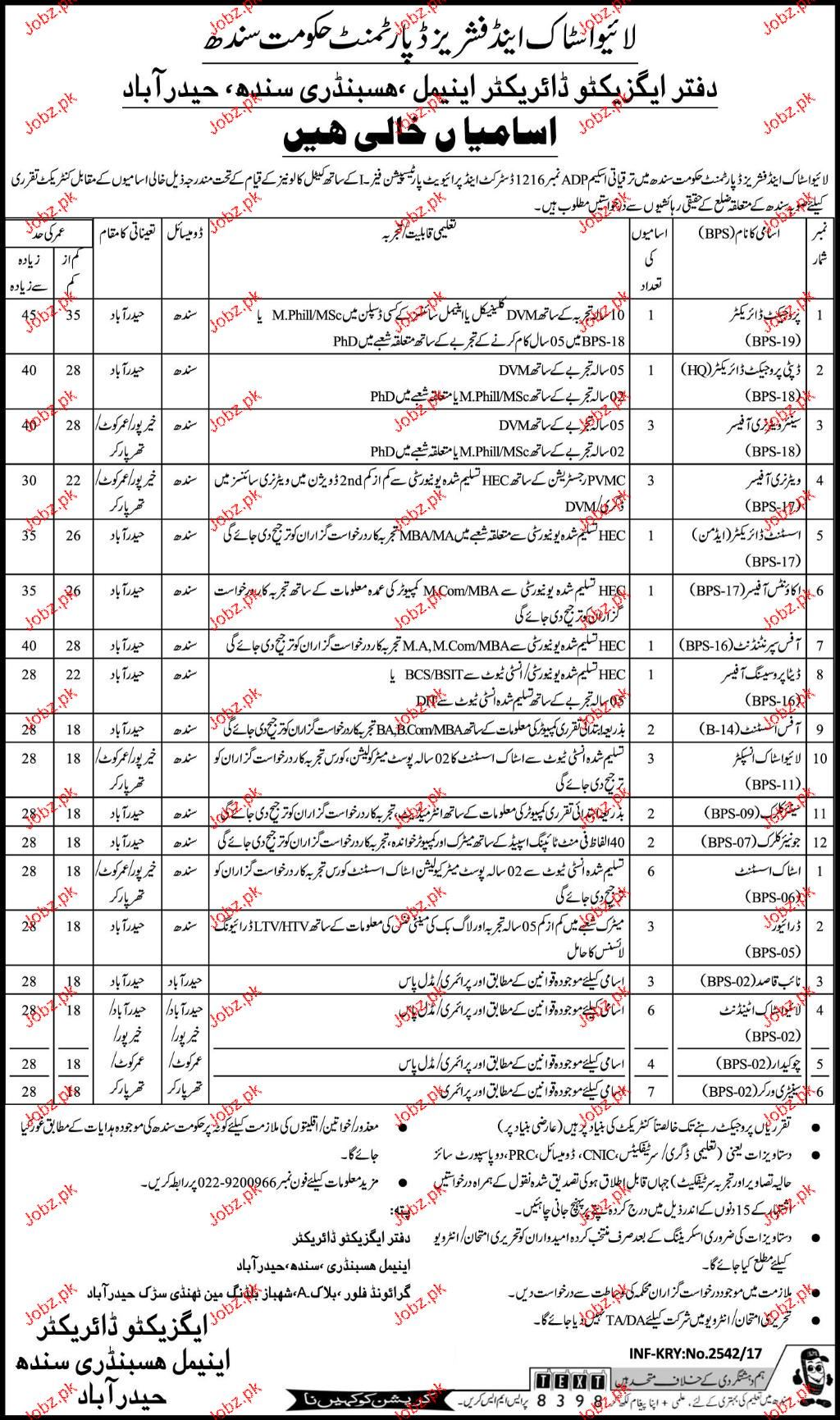 Livestock and Fisheries Department Govt Sindh