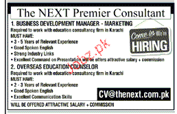 Business Development Manager Marketing Job Opportunity
