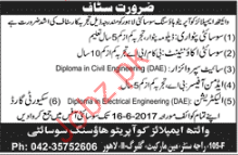 Patwari, Accountant, Site Supervisor, Admin Officer Required