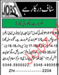 Security Guard required for PIFFERS