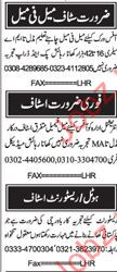 Cook Required for Restaurant