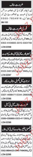 Female Accountant Required In Fertilizer Company