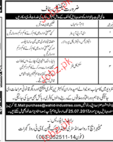 HRP Operators, Electrical Engineers Job Opportunity