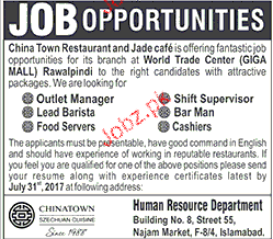 Outlet Managers, Shift Manager Job Opportunity