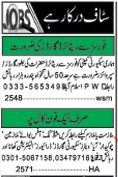 Security Staff Required