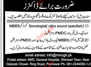 Sonologists and Ultra Sound Specialists Wanted