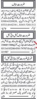 Accountant,Electricians jobs