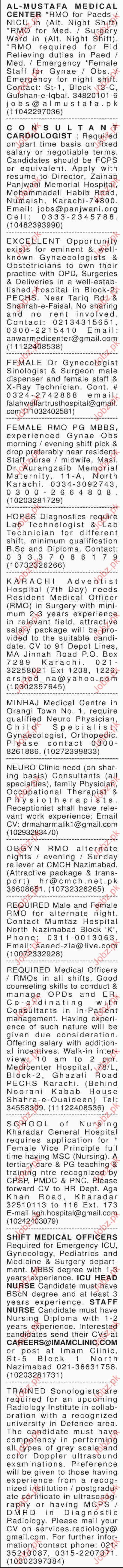 Male and Female Job Opportunity