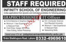 IT Officers and Graphic Designers Job Opportunity