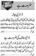 Job in Oil Company