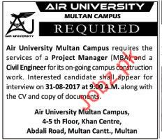 Jobs in Air University