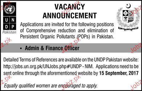 United Nations Development Programs UNDP Jobs Open