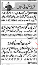 Security Staff Job Opportunity