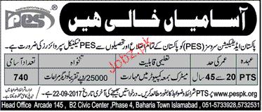 PTS Job in Pakistan Addication Services