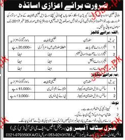 Federal Government Education Institutes  Jobs