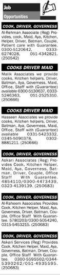 Jobs Opporunities In Islamabad Pakistan