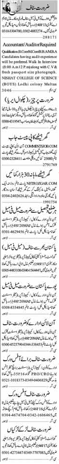 Accountant and Computer Operator & Online Jobs 2017