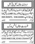 Receptionist and Computer Operator Jobs