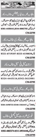 Computer & Office Clerk Jobs in Islamabad