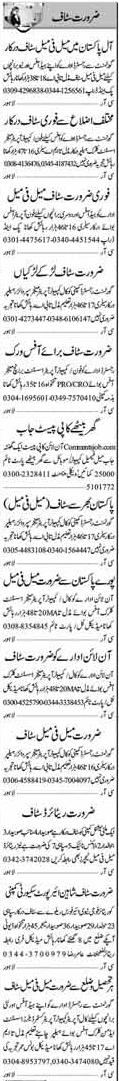 Assistant Clerk & Call Agent Jobs Multan 2017
