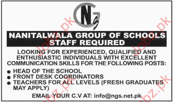 NGS Required Management Staff
