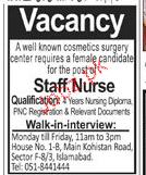 Staff Nurses Job Opportunity