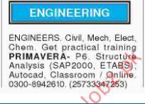 Civil,Mechanical,Electrical Engineers Jobs