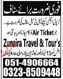 Traveling Agency Staff  Job Opportunity