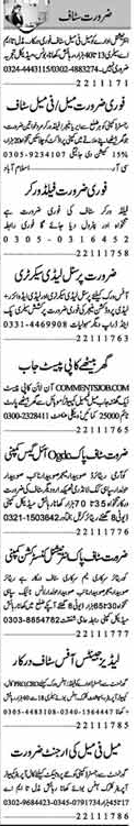 Field Workers & Area Managers Jobs 2017