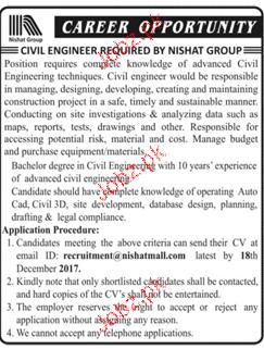 Civil Engineers Job Opportunity