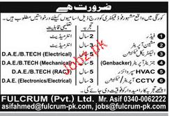 Machine Operators, Electrical Technicians Job Opportunity