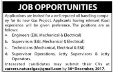Engineer & Supervisor & Technician Jobs