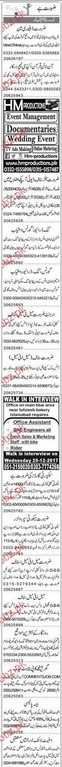Deliverymen, Online Quran Teachers Job Opportunity