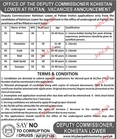 Deputy Commissioner District Office Jobs